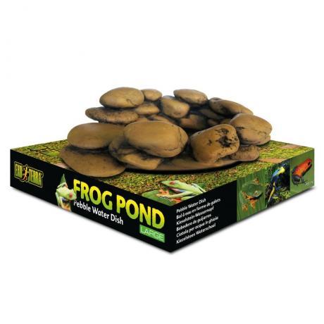 Exo Terra Frog Pond Pebble Water Dish