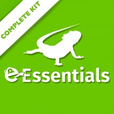 Exotic Pets Essentials Bearded Dragon Kit
